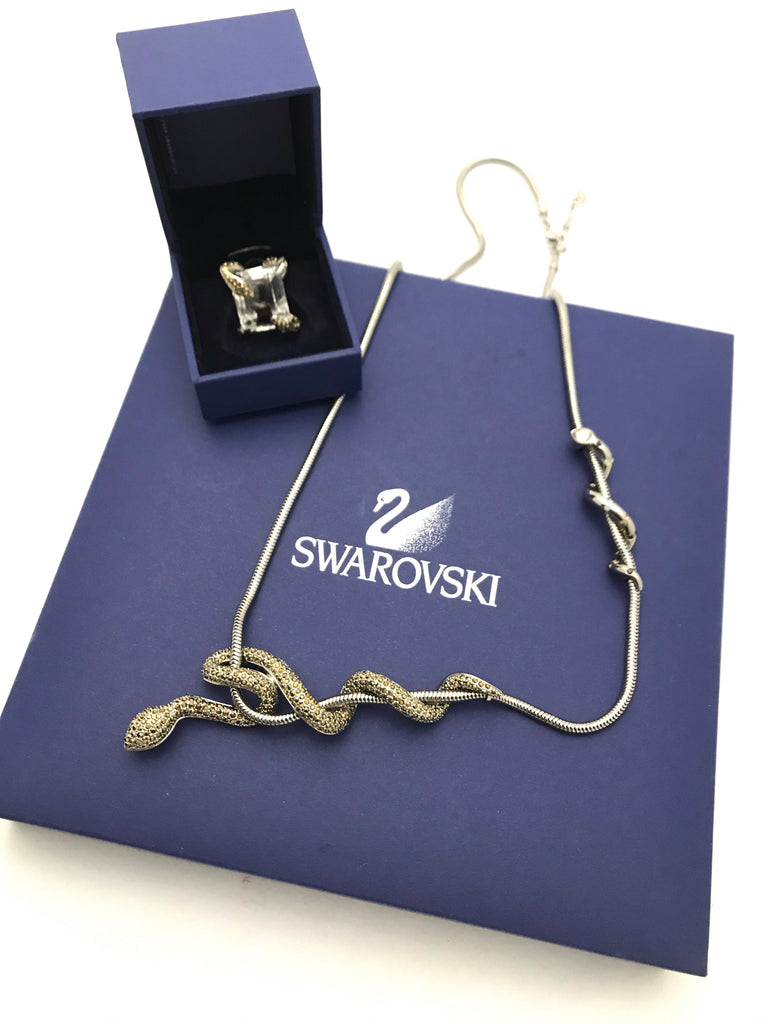 Serpent Ring by Swarovski