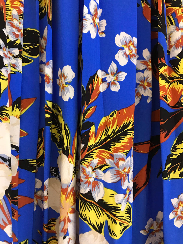 Bolan Silk Flower Skirt by Diane von Furstenberg
