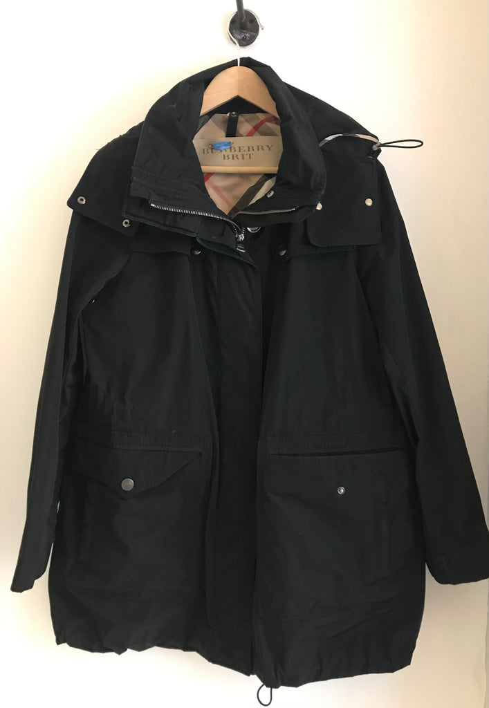Oversized Pockets Rain Jacket by Burberry Brit