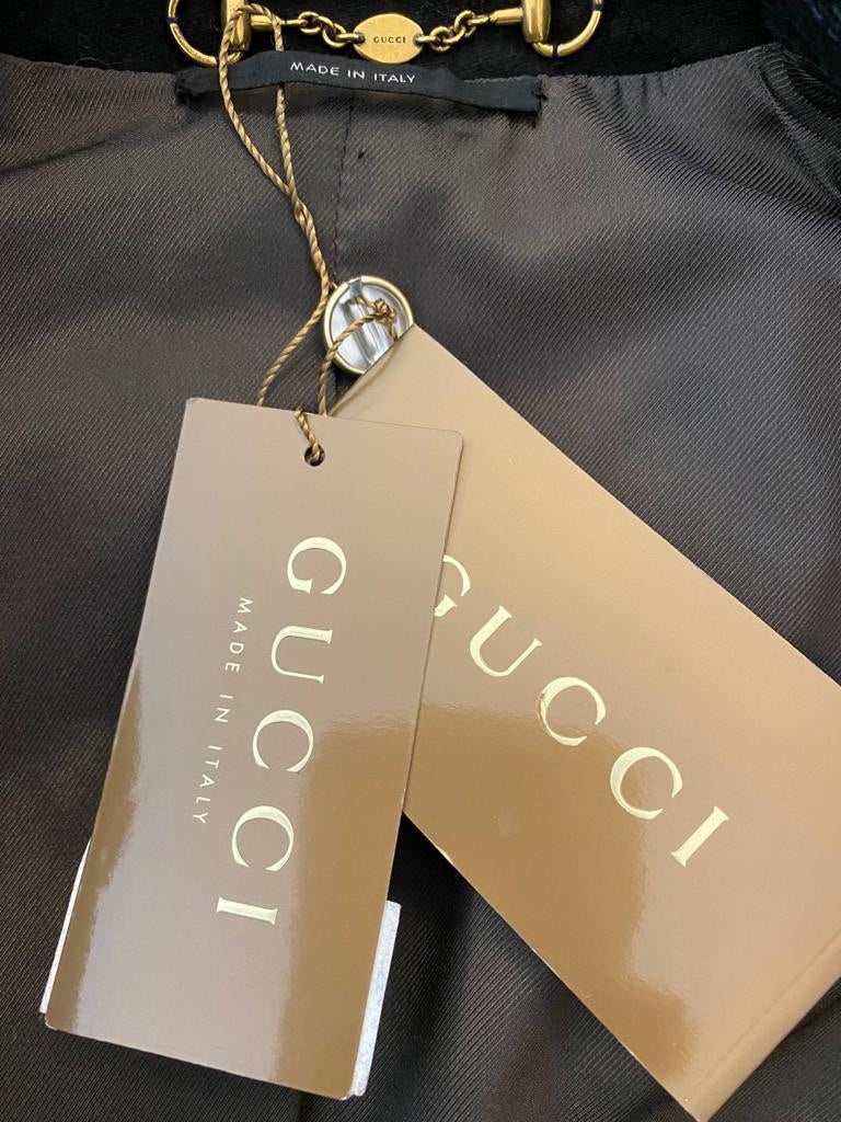 Military Style Cotton Jacket by Gucci
