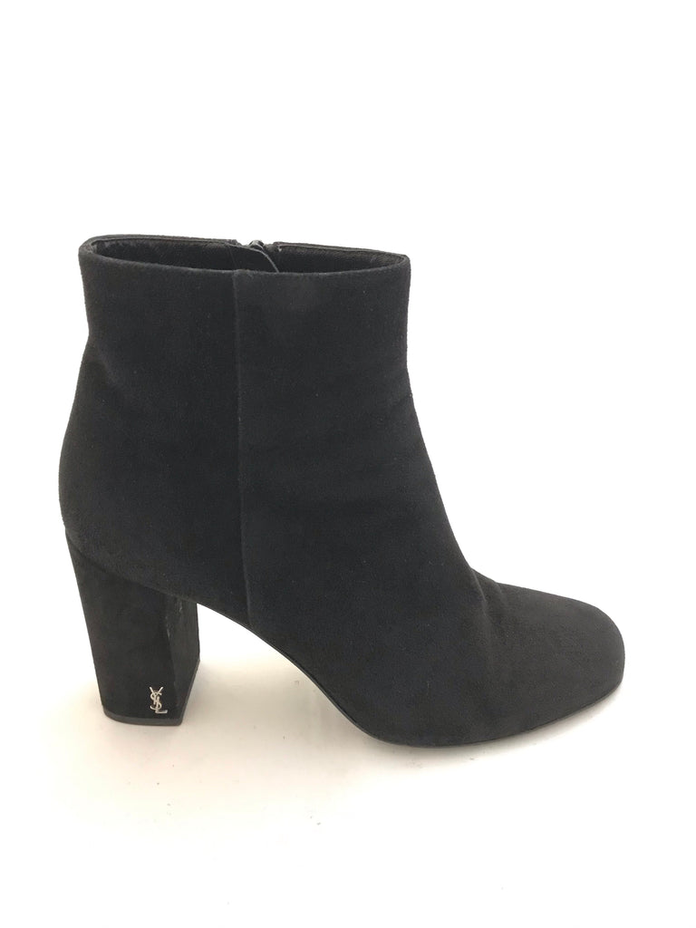 Suede Ankle Boots by YSL