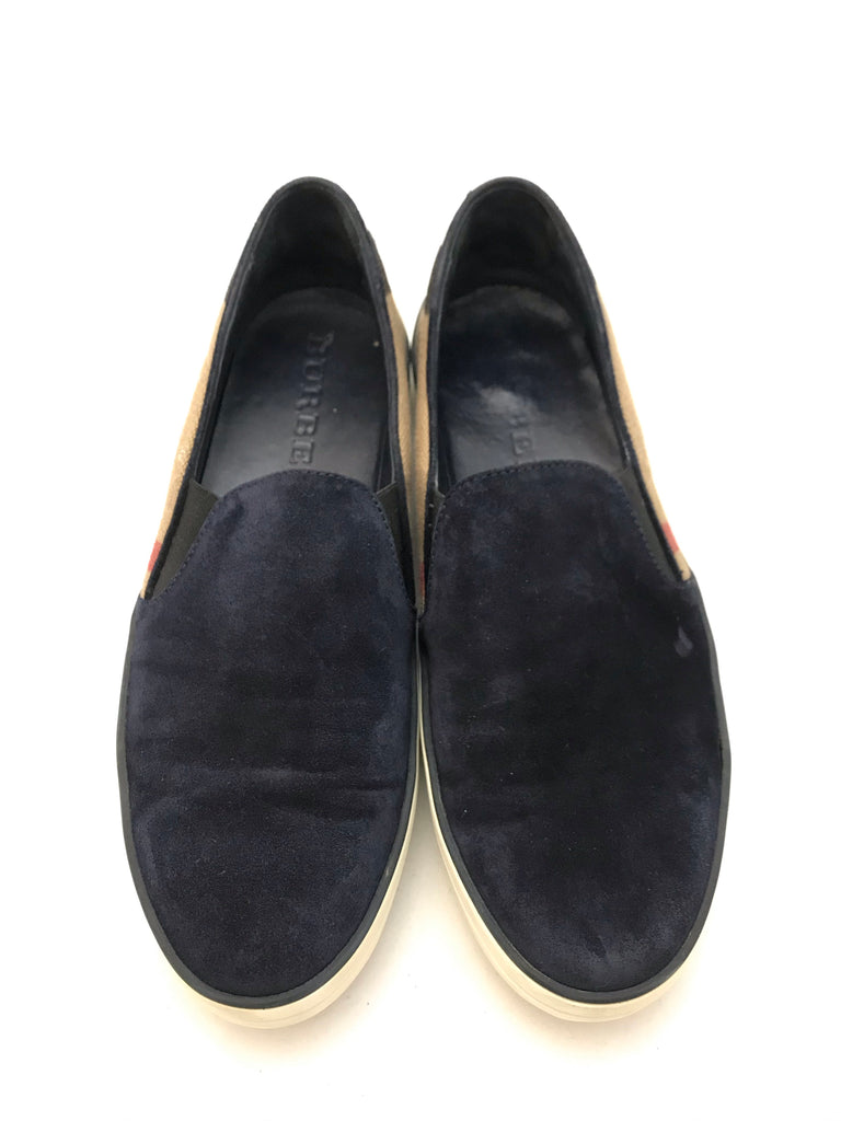 Suede Slip Ons by Burberry