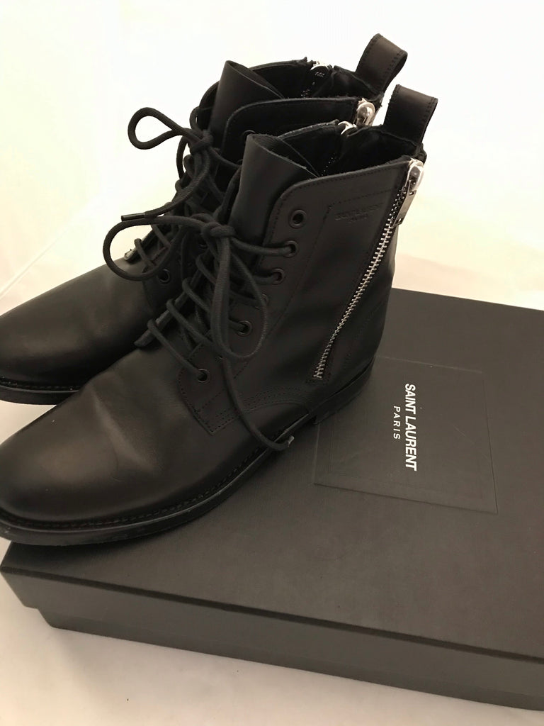 Rangers Ankle Boots by Saint Laurent