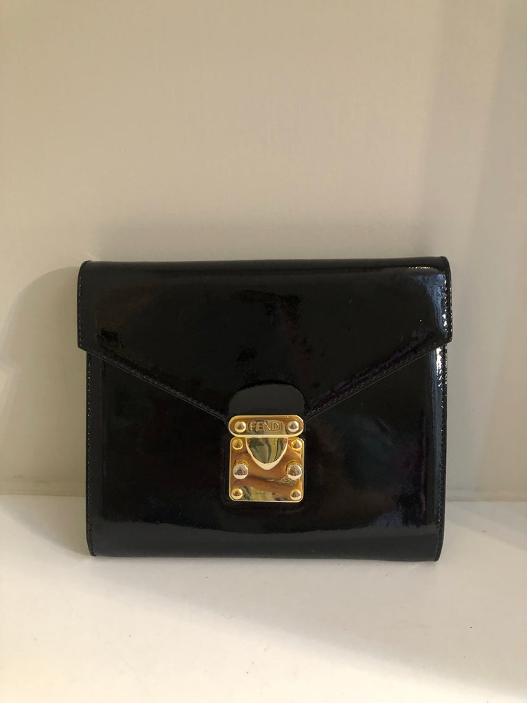 Vintage Patent 3 Way Bag by Fendi