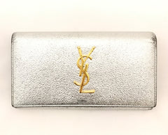 Metallic Purse by YSL at Isabella's Wardrobe