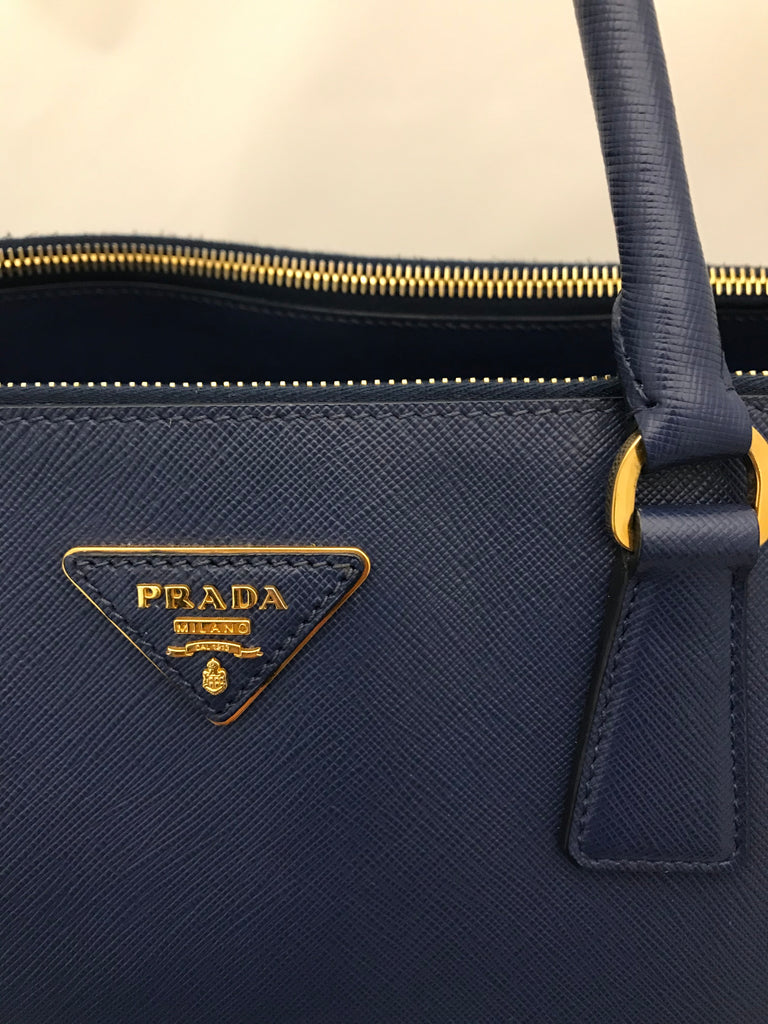 Extra Large Double Zip Galleria Tote by Prada