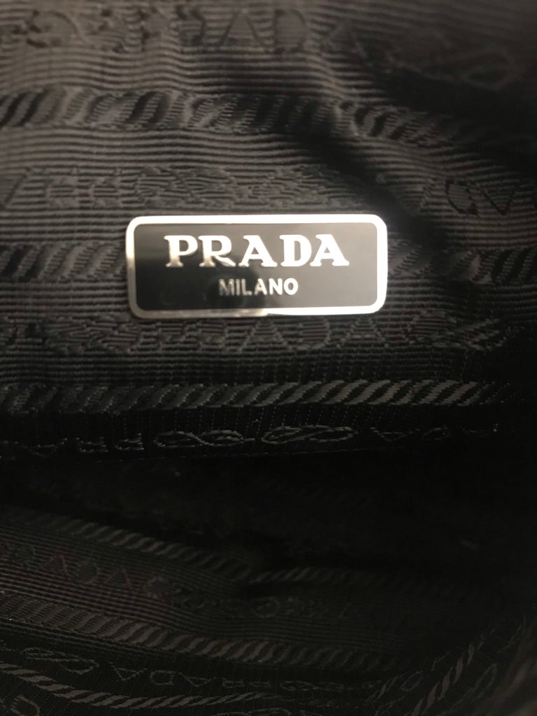 Ruched Nylon Mini Bag by Prada