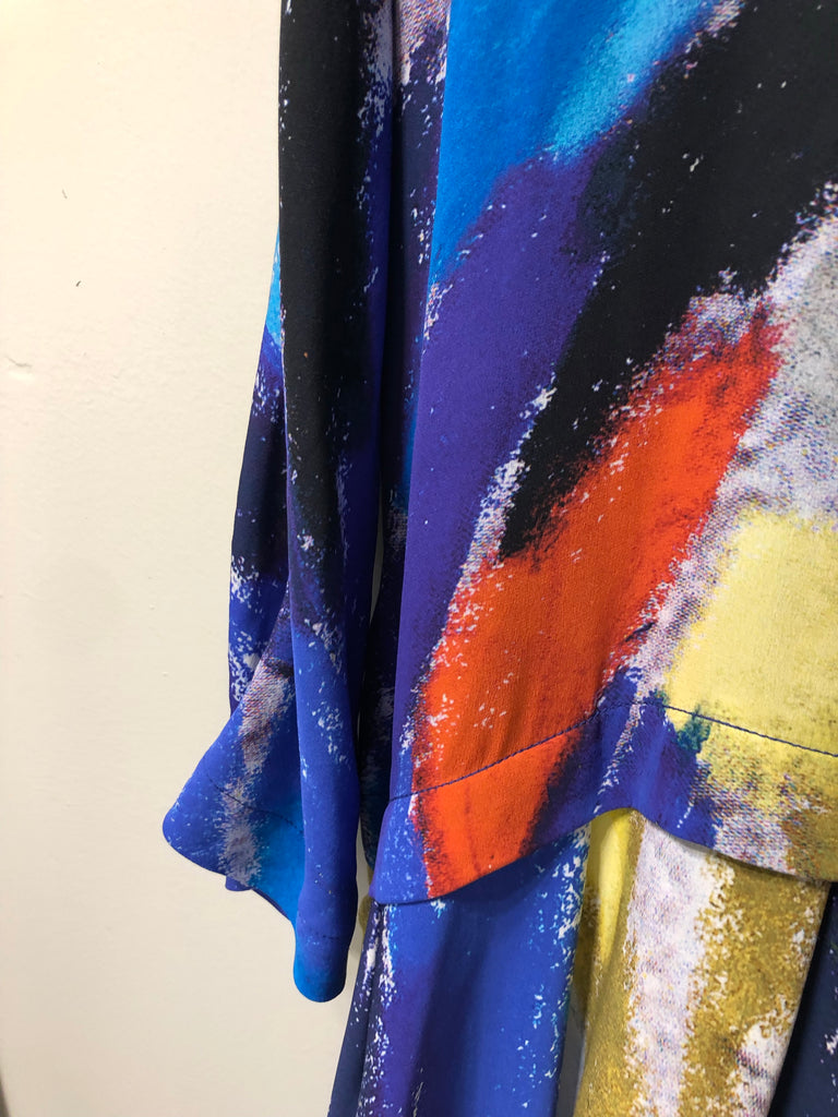 Multicoloured Silk Dress by Daniela Gregis
