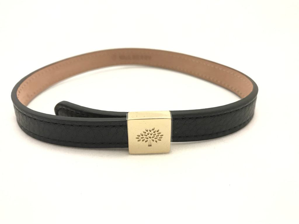 Tessie Wrap Leather Bracelet by Mulberry