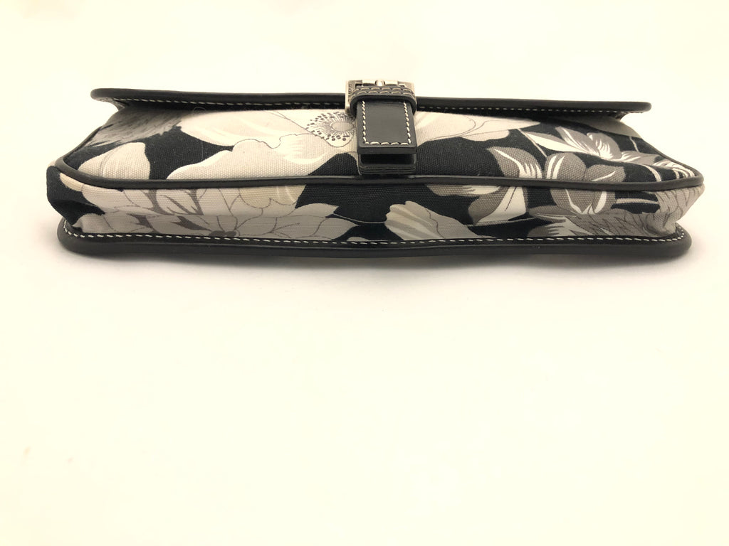 Fabric Floral Clutch by Burberry
