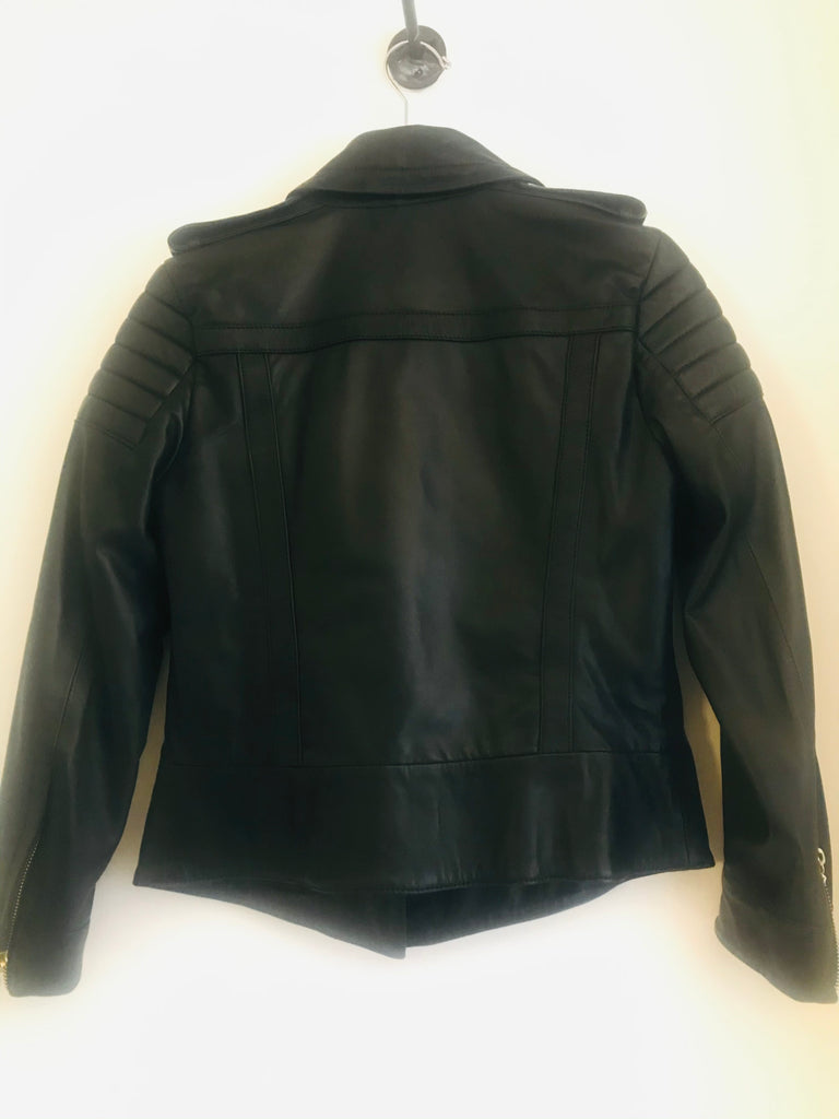Leather Biker Jacket by Just Cavalli