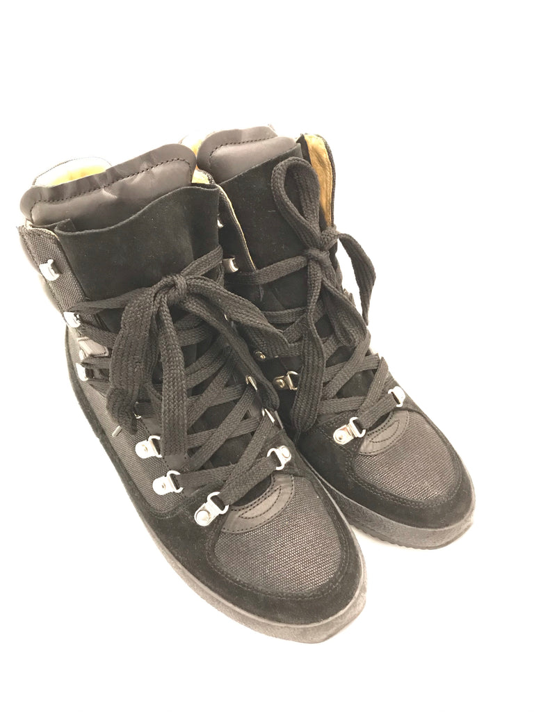 Brendty Hiking Boots by Isabel Marant