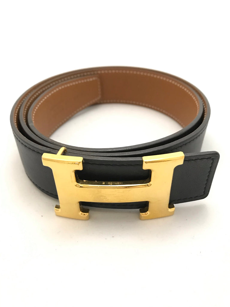 Constance Reversible H Belt by Hermes