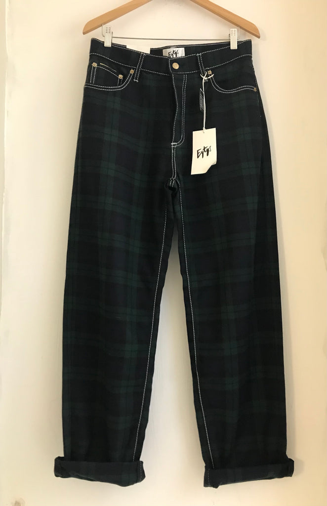 Tartan Trousers by Eytys