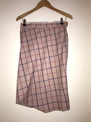 Chequered Wool Skirt by Vivienne Westwood Red Label at Isabella's Wardrobe