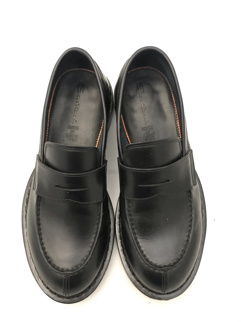 Leather Brogues by Santoni edited by Marco Zanini