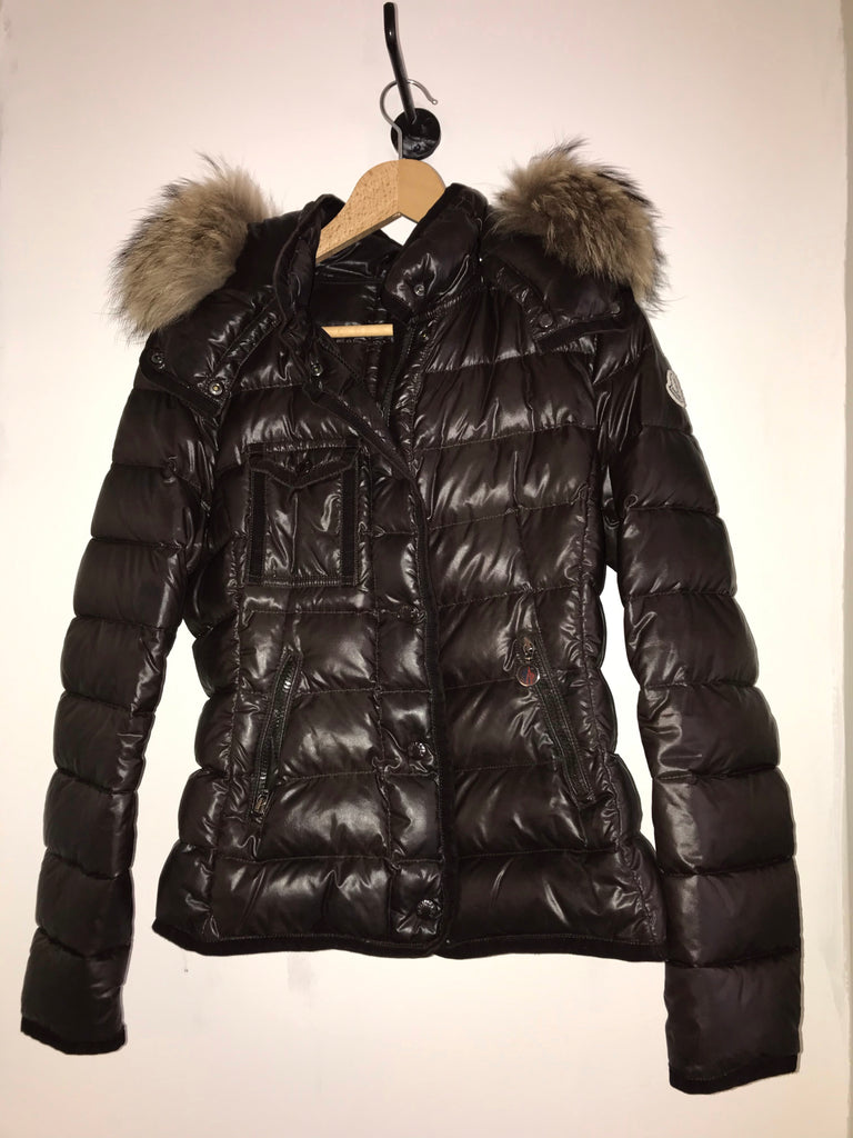 Armoise Raccoon Jacket by Moncler