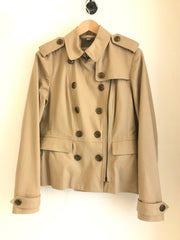 Double Breasted Trench Jacket by Burberry Brit at Isabella's Wardrobe