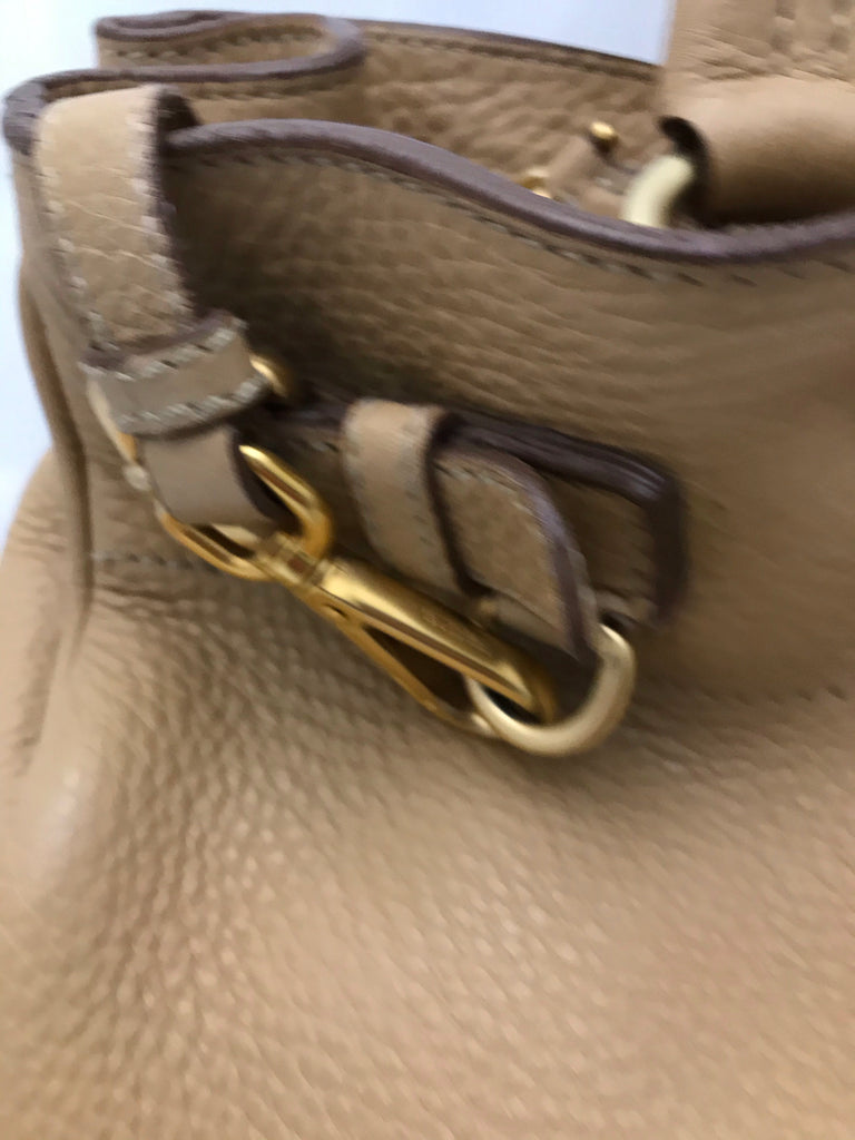 Leather Handbag by Prada