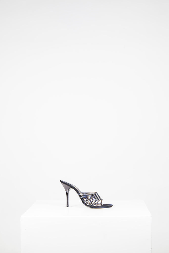 Diamante mules by Rodo