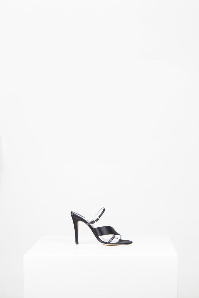 Diamante buckle sandals by Gina