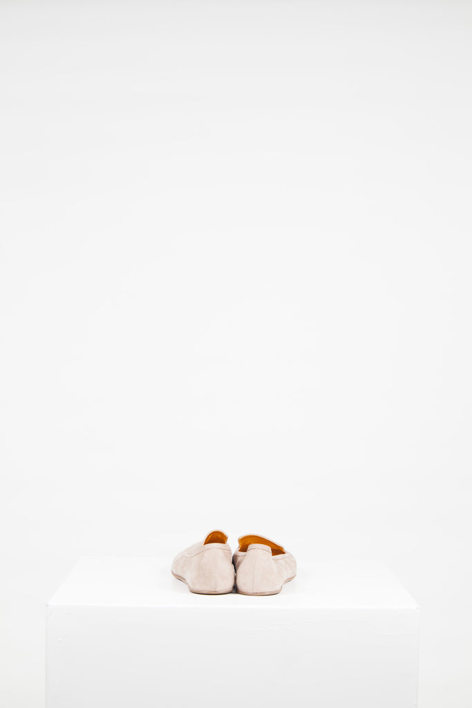 Soft leather slip-ons by Rochas