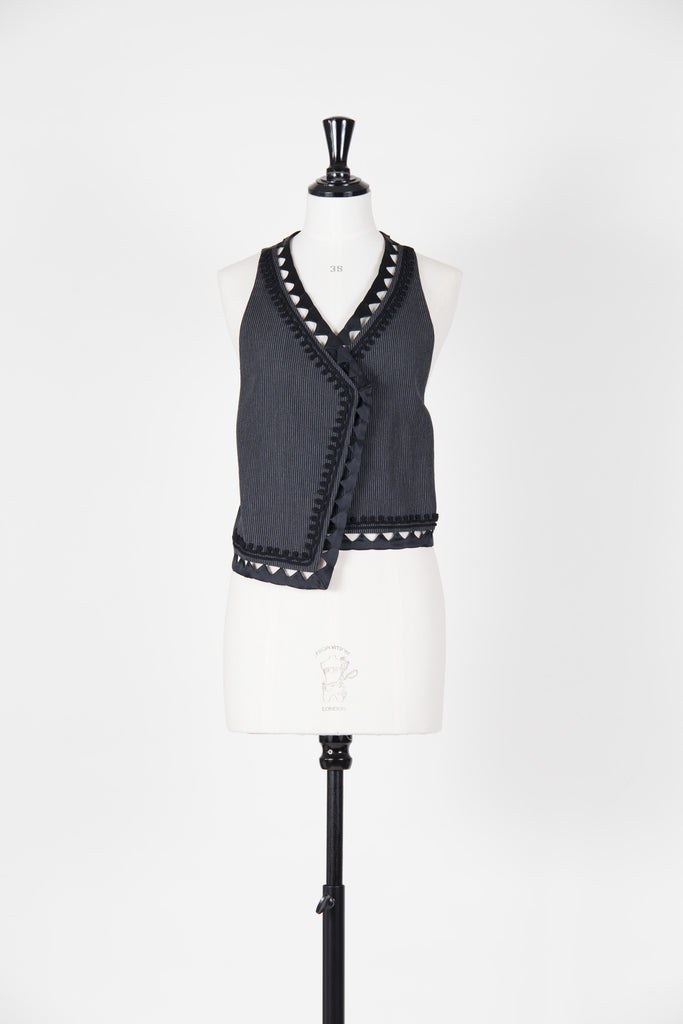 Cut-out edged waistcoat by 3.1 Phillip Lim