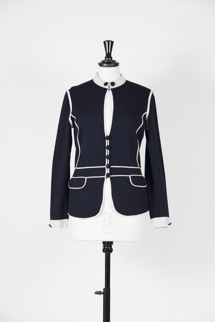 Nautical knitted jacket by Emporio Armani