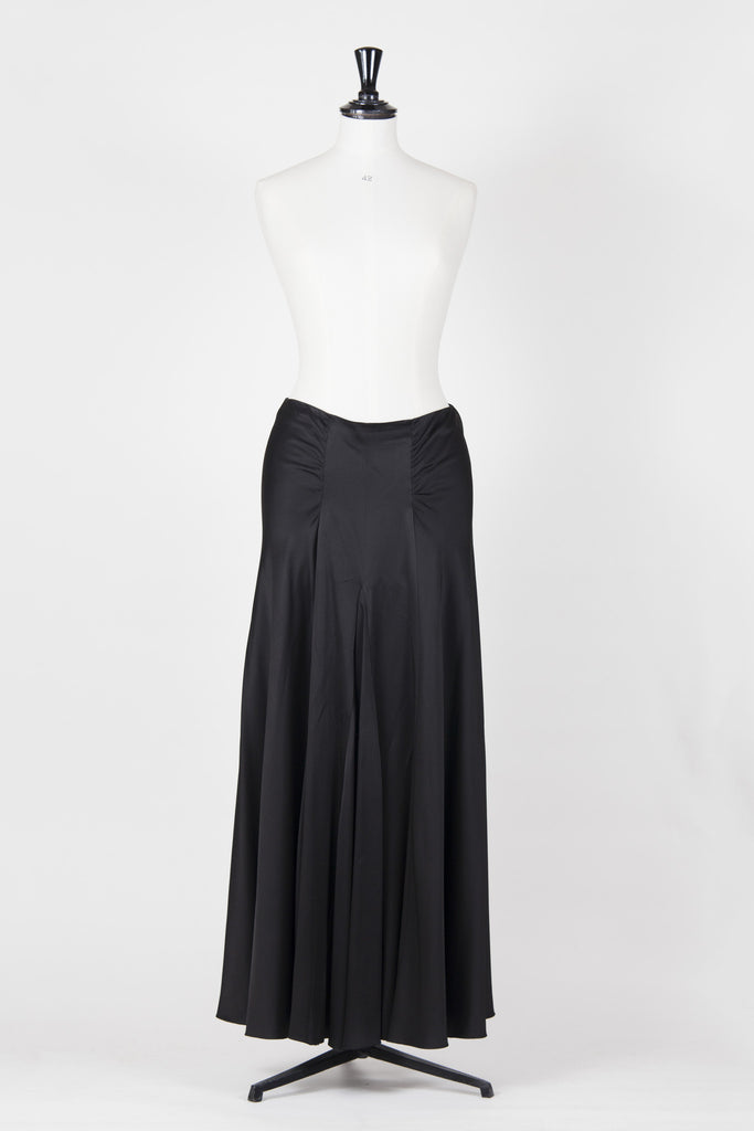 Full-length panelled evening skirt by Emporio Armani