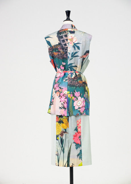 1950s style silk two piece by Rochas