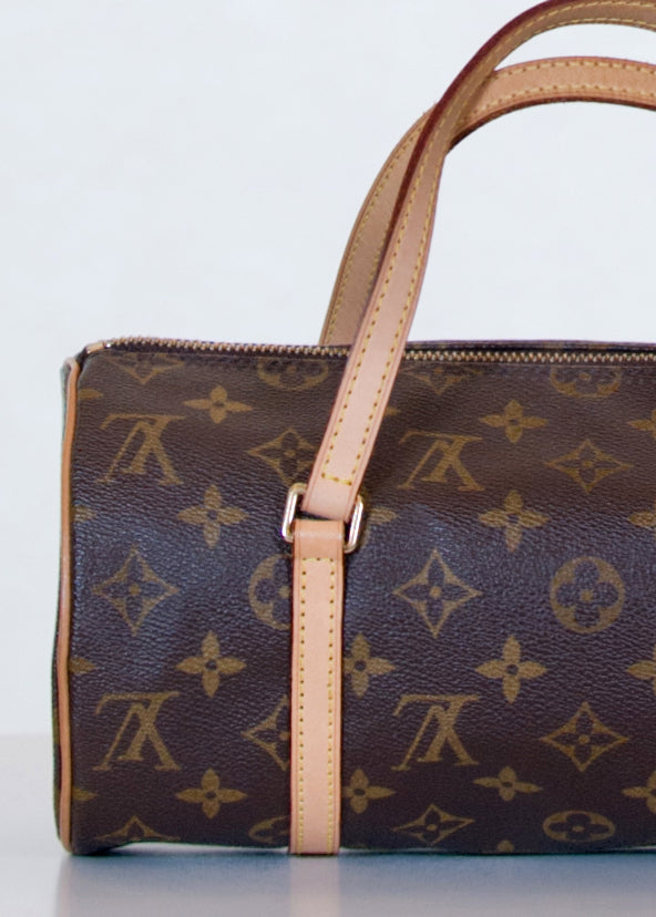 Monogrammed Papillon Bag by Louis Vuitton