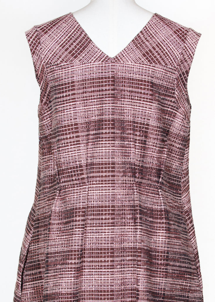 Tweed effect pinafore dress by Marni