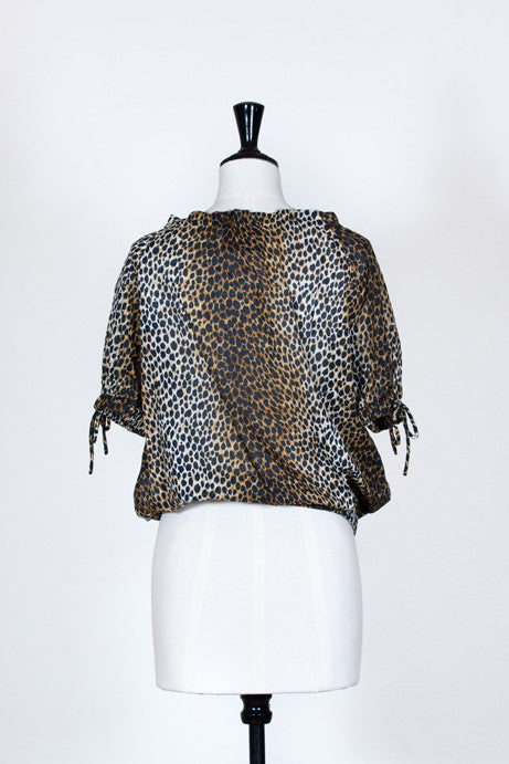 Leopard print top by D&G