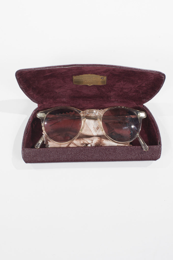 O'Malley vintage sunglasses by Oliver Peoples