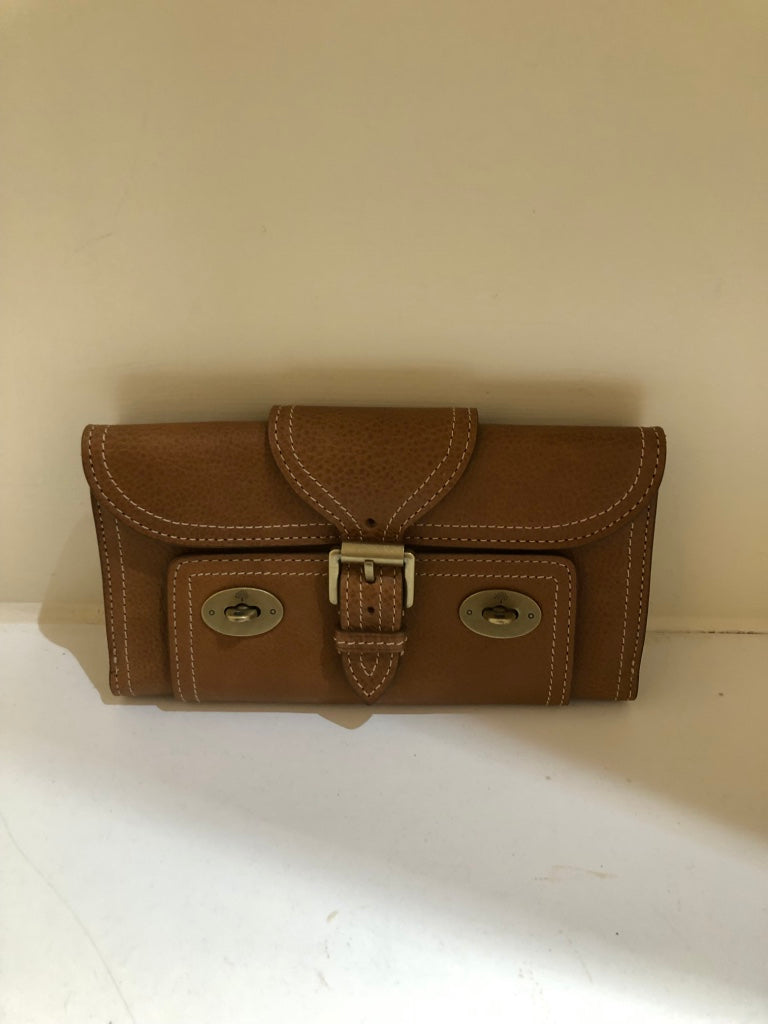 Emmy Continental Oak Wallet by Mulberry