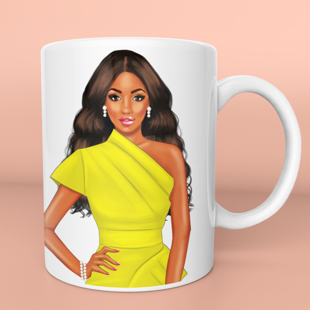 Emerald beauty mug