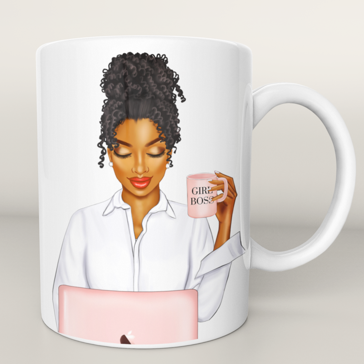 Custom - Girl Boss Mug