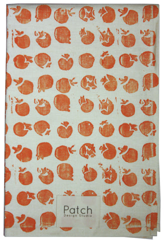 Tomato Organic Kitchen Towel - Carrot Orange