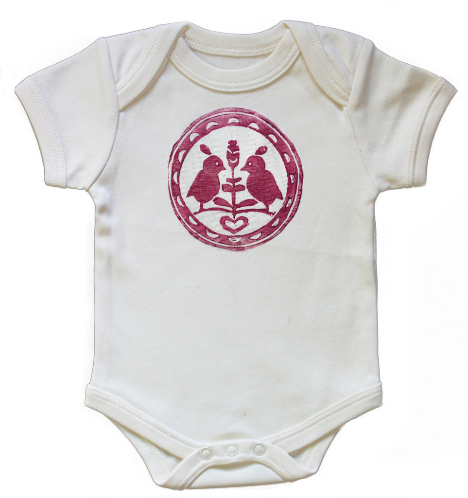 Organic Lovebirds Onesie