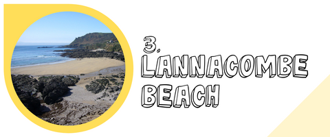 Lannacombe beach kids friendly