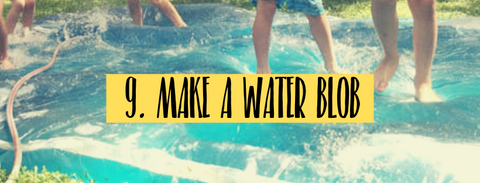 how to make a water blob activity for kids