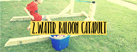 water balloon fun summer activities with children
