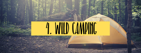 wild camping fun things to do with kids in summer vacation