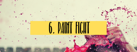 paint fight fun summer activities with kids