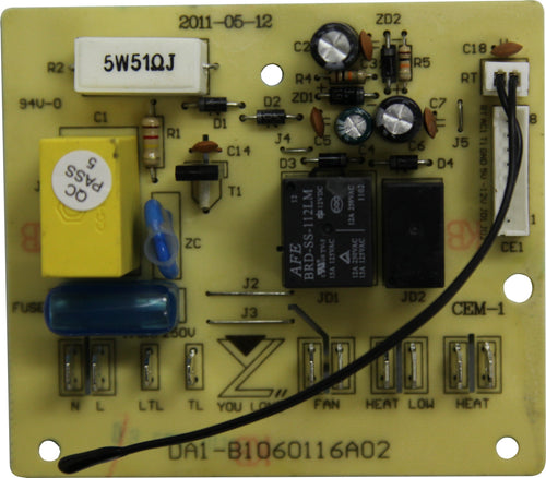PC Control Board - Rear (A4998/RP)
