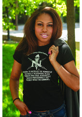 NSBE Mission Tee (Ladies' Fit V-Neck)