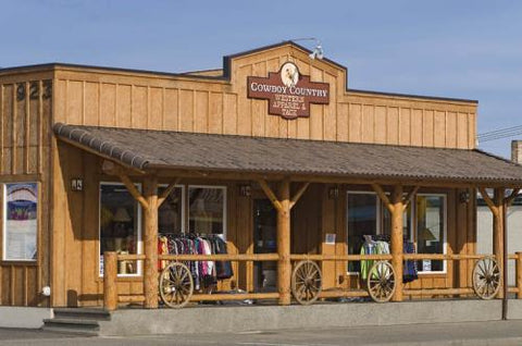 Front of Cowboy Country store