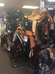 Saddles at Cowboy Country