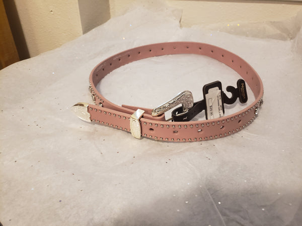 Girls pink Belt with Rhinestones (N1344999R)