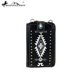 MW Embroidered Phone Case Crossbody Wallet (MW910-183)